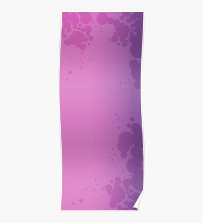 Pinkly Purple; Abstract Digital Vector Art Poster