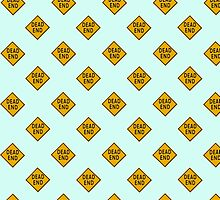 Dead End road sign wallpaper by stuwdamdorp