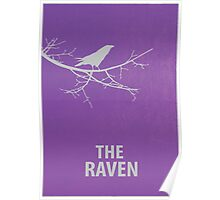 The Raven Minimalist Poster Poster
