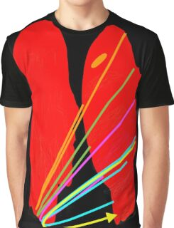 Mickeys Art And Design, Title of image: Heads Up Graphic T-Shirt