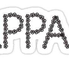 kappa flower sticker Sticker