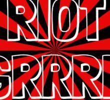 Riot Grrrl 1 Sticker