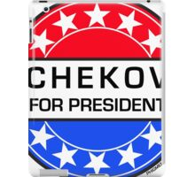 CHEKOV FOR PRESIDENT iPad Case/Skin