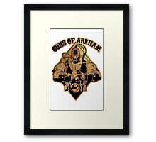 Son of Arkham - Wrestler Framed Print