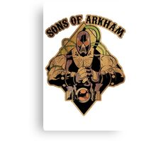 Son of Arkham - Wrestler Canvas Print