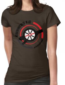 Asenal FC - The Gunners Womens Fitted T-Shirt