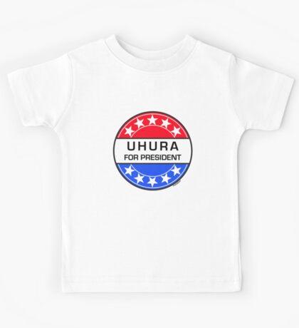 UHURA FOR PRESIDENT Kids Tee