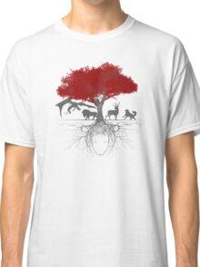 Three-eyed raven tree Classic T-Shirt