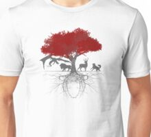 Three-eyed raven tree Unisex T-Shirt