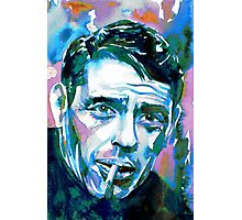 JACQUES BREL - watercolor portrait Photographic Print