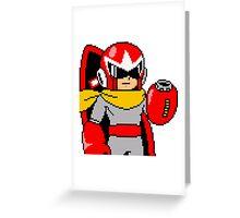 Proto Man Greeting Card