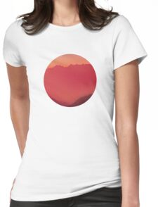 Red Paradise Womens Fitted T-Shirt
