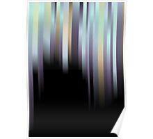 Sky Collapsing; Abstract Digital Vector Art Poster