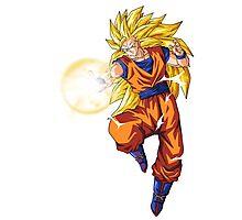 Goku Super Saiyan n°3 Photographic Print