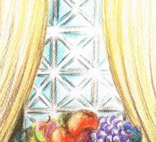Window of fruit Sticker