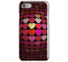 Beating Heart; Abstract Digital Vector Art iPhone Case/Skin