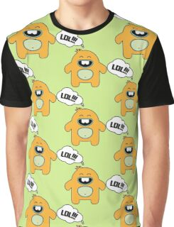 Cartoon monsters.  LOL Graphic T-Shirt