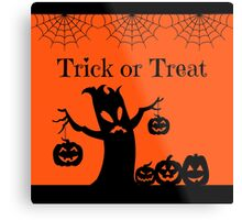 Halloween Trick or Treat Metal Print