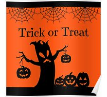 Halloween Trick or Treat Poster