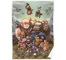 Clash Royale Poster, Cover ecc... Poster