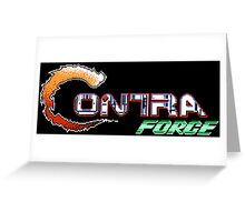 Contra Force Greeting Card