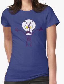 Scary Halloween Skeleton Emoticon T-Shirt