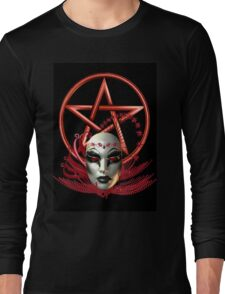 Mask of the Vampire Long Sleeve T-Shirt