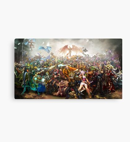 League of Legends - All Champions Canvas Print