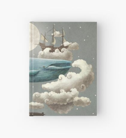 Ocean Meets Sky  Hardcover Journal