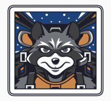 Star Raccoon (sticker) by Olipop