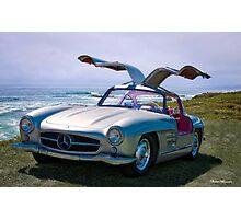 1955 Mercedes-Benz 300SL Gullwing Replica Photographic Print