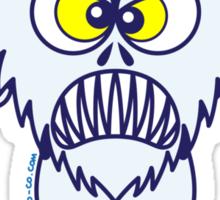 Scary Halloween Werewolf Emoticon Sticker
