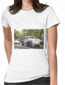 Mercedes AMG 6x6 Womens Fitted T-Shirt