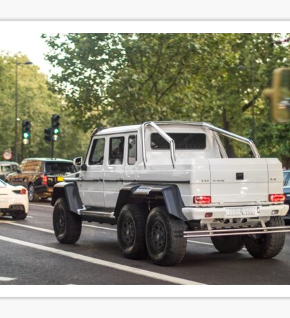 Mercedes AMG 6x6 Sticker