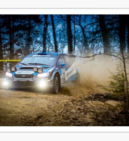 Subaru Night Rally Sticker