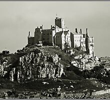 The West side of St Michaels Mount by Malcolm Chant
