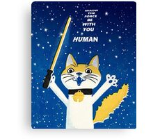 kitty force Canvas Print