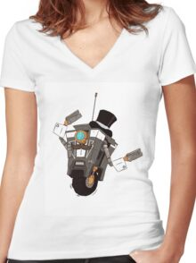 The Gentleman Caller Women's Fitted V-Neck T-Shirt