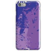 Oops, I think I Purpled; Abstract Digital Vector Art iPhone Case/Skin
