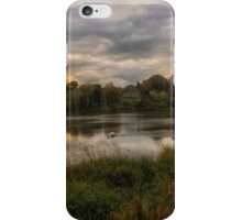 Turn Loose the Swans, Linlithgow Loch Sunset iPhone Case/Skin