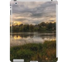 Turn Loose the Swans, Linlithgow Loch Sunset iPad Case/Skin