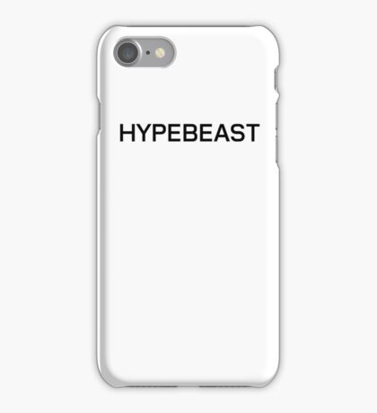 Hypebeast collection iPhone Case/Skin