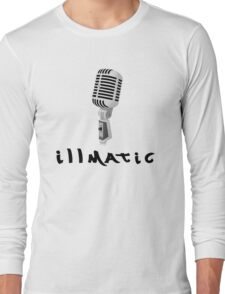 illmatic Microphone Long Sleeve T-Shirt