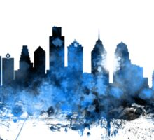Philadelphia Pennsylvania Skyline Sticker