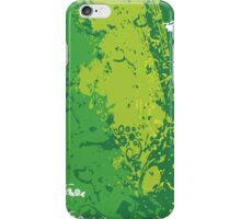 Green Soda; Abstract Digital Vector Art iPhone Case/Skin