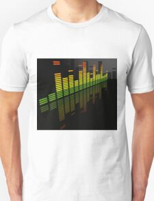 Comfortably Loud; Abstract Digital Vector Art Unisex T-Shirt