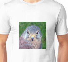 Kestrel - Close Up of face Unisex T-Shirt