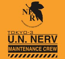 TOKYO-3 NERV  by TheBeardedPen