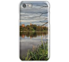 Linlithgow Loch and Palace, West Lothian. Scotland iPhone Case/Skin