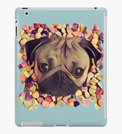 Candy-pug iPad Case/Skin